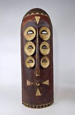 A Vintage Bembe African mask, African Tribal Art
