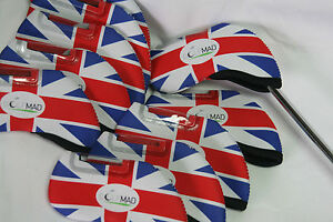 10-Golf-Mad-UK-Iron-Covers-Golf-Headcovers-for-Callaway-Taylormade-Mizuno-Only