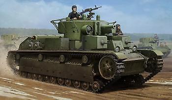 Hobby Boss 1 35 Soviet T-28 Medium Tank (Welded)