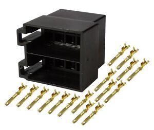 Connecteur-fiche-ISO-16PIN-faisceau-universel-alimentation-son-haut-parleurs