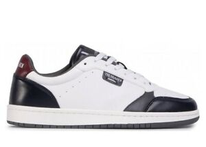 Scarpe uomo Trussardi Jeans 77A00271 sneaker casual sportive basse pelle bianche