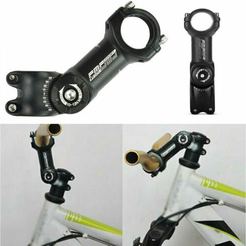 Durable MTB Bike Stem Riser Bicycle Stem Extender HandleBar Height Angle Adjust