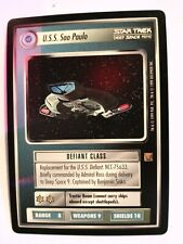 Star Trek CCG DOM Dominion Worf Son of Mogh WB Preview Ultra Rare Nr Mint Mint