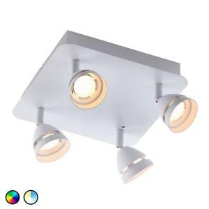 Trio-Gemini-4x-LED-spotlight-16-million-colours-Alexa-Google-amp-WiZ-App-Contol
