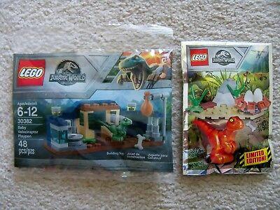 Lego 30382 Jurassic World Polybag Jurassic Park RARE babyraptor-NEW