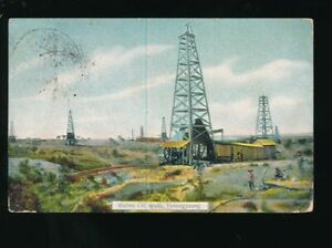 BURMA-EARLY-PPCs-PICTURE-POSTCARDS-POSTALLY-USED-1904-1910