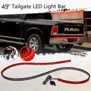 49 trunk tailgate led light bar for reverse brake turn signal image is loading 49 034 trunk tailgate led light bar for mozeypictures Images
