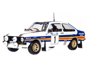 Altaya 1 18 ford escort rs 1800 mk II 1981 A. vatanen new box never opened