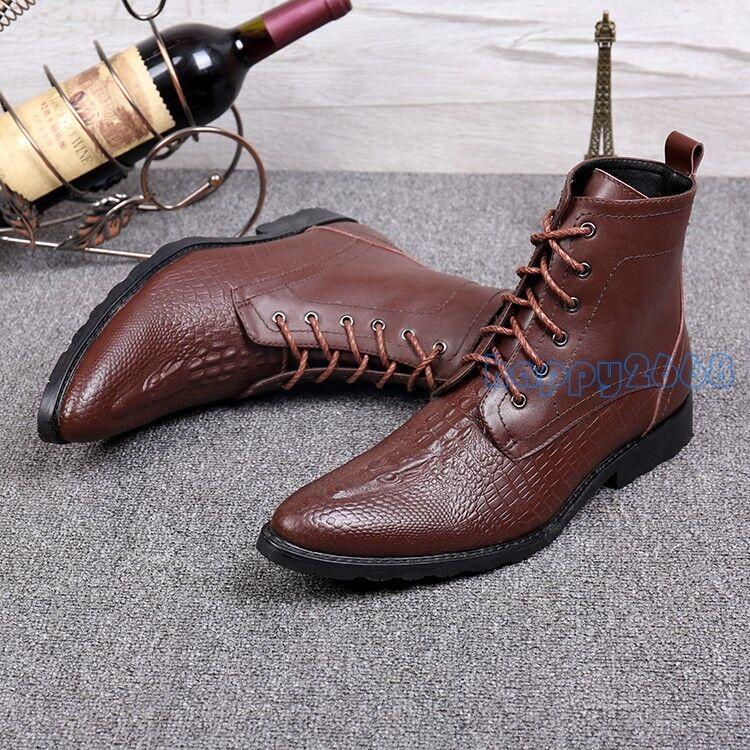 ae9837bd513 El General 1901 White Pointed Cayman Western Cowboy Boots Boots Boots 8.5  (27.5) Crocodile 8ffbf5