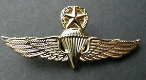 Superior Image Is Loading DOMINICAN REPUBLIC PARA LARGE JUMP WINGS LAPEL PIN