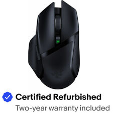 Razer Basilisk X Hyperspeed Wireless Mouse RZ01-03150100 Certified Refurbished