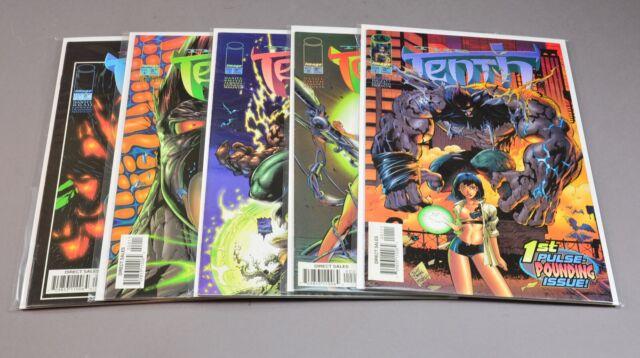 Lot of 11 comics... The Tenth # 1 thru 11 Image comics all high grade!
