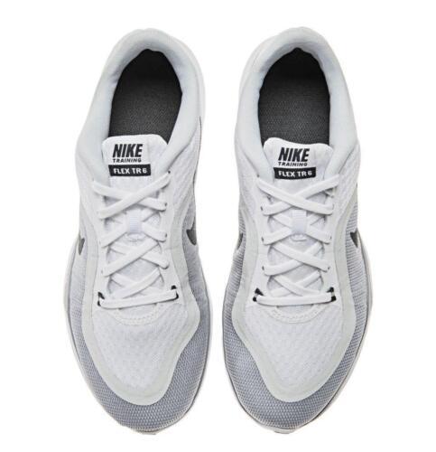831217 6 Femmes Basket Course Baskets Blanc Flexible 100 Nike t0qR0T