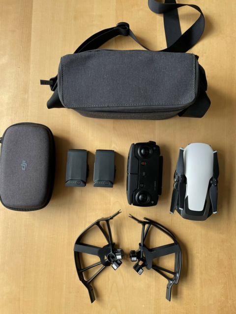 DJI Mavic Air Fly More Combo, DJI, hvid, fra 2018.  I super…