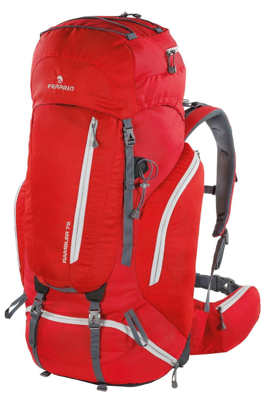 Zaino Trekking FERRINO RAMBLER 75 col. col. col. rosso 54fe82