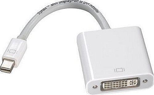 DX-AP170 APPLE IE832 FREE SHIP NEW DYNEX Mini DisplayPort to DVI Adapter
