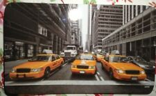 Kesper  Dekor-Frühstücksbrettchen New York Taxi Melamin eckig 23,5 x 14,5