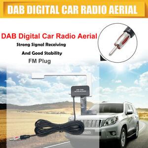 Radio-Stereo-Auto-Parabrezza-Interno-Vetro-Mount-DAB-Antenna-Antenna-Digitale-FM