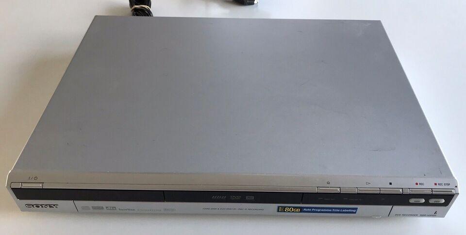 Dvd/video-afspiller, Sony, RDR-HX520