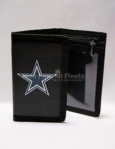 Dallas-Cowboys-Black-Wallet-Tri-Fold-NFL-Wallet-Cowboys-Cartera-Negra-Cowboys