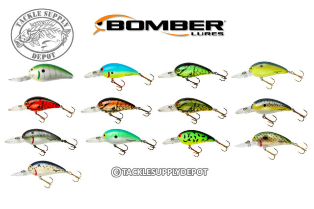 Choice of Color Medium Rounded Tip Bomber Model 4A Crankbait 3-6 feet