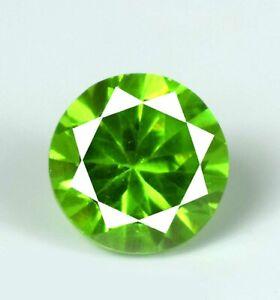 Round Diamond Cut 39.60 Ct Pakistan Peridot Gemstone Natural Certified A40702