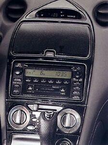 Toyota Celica Gt Gt S Interior Carbon Fiber Dash Trim Kit Set 99