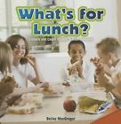 What's for Lunch?: Classify and Count Objects in Each Category by Bailey MacGregor (Paperback / softback, 2013)