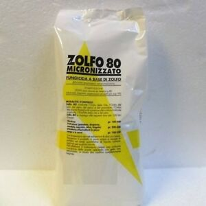 Details about FUNGICIDE SULFUR 80 MICRONISED POWDERED 1 KG WETTABLE POWDER