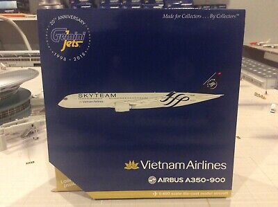 "Gemini Jets 1:400 Vietnam Airlines Airbus A350-900 /""Skyteam/"" GJHVN1778 IN STOCK"