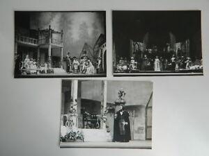 3 Foto Analogica Festival Aix Werther Opera Jules Massenet 1978