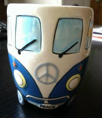 coffee cup mug pot cup volkswagen vw bus bulli t1 camper hippie ebay. Black Bedroom Furniture Sets. Home Design Ideas