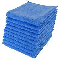 10 M-Cloth / Micro Fibre Lint Free Microfibre Cloths Detailing / Valeting