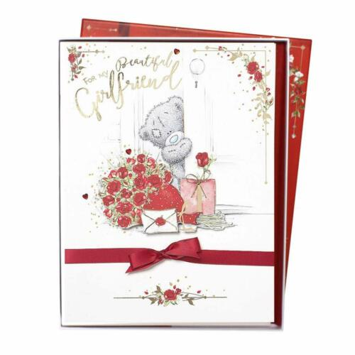 Me To You Bear Beautiful Girlfriend Valentines Day Boxed Card...mty vbl01009