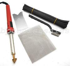 80 Watt Iron PLASTIC WELDING KIT TPO TEO PP Rod Mesh Auto Car Welder Repair Kit