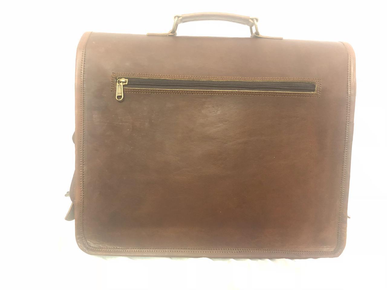 Herren Business Leder Aktentasche Schulter Messenger Messenger Messenger Laptop Umhängetasche      Modern Und Elegant  c0d37e
