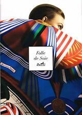 FOLLE DE SOIE - HERMES PARIS Brochure S/S 2013 KARLIE KLOSS by DAVID SIMS @NEW@