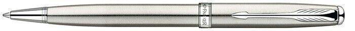 Parker Sonnet Twist Mechanism Ballpoint Pen Brushed Stainless Steel | Spaß