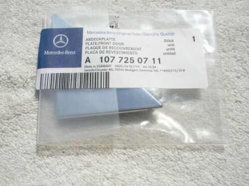 OEM R107 MERCEDES LEFT INSIDE CHROME MIRROR COVER 380SL 450SL 380SLC 450SLC NEW