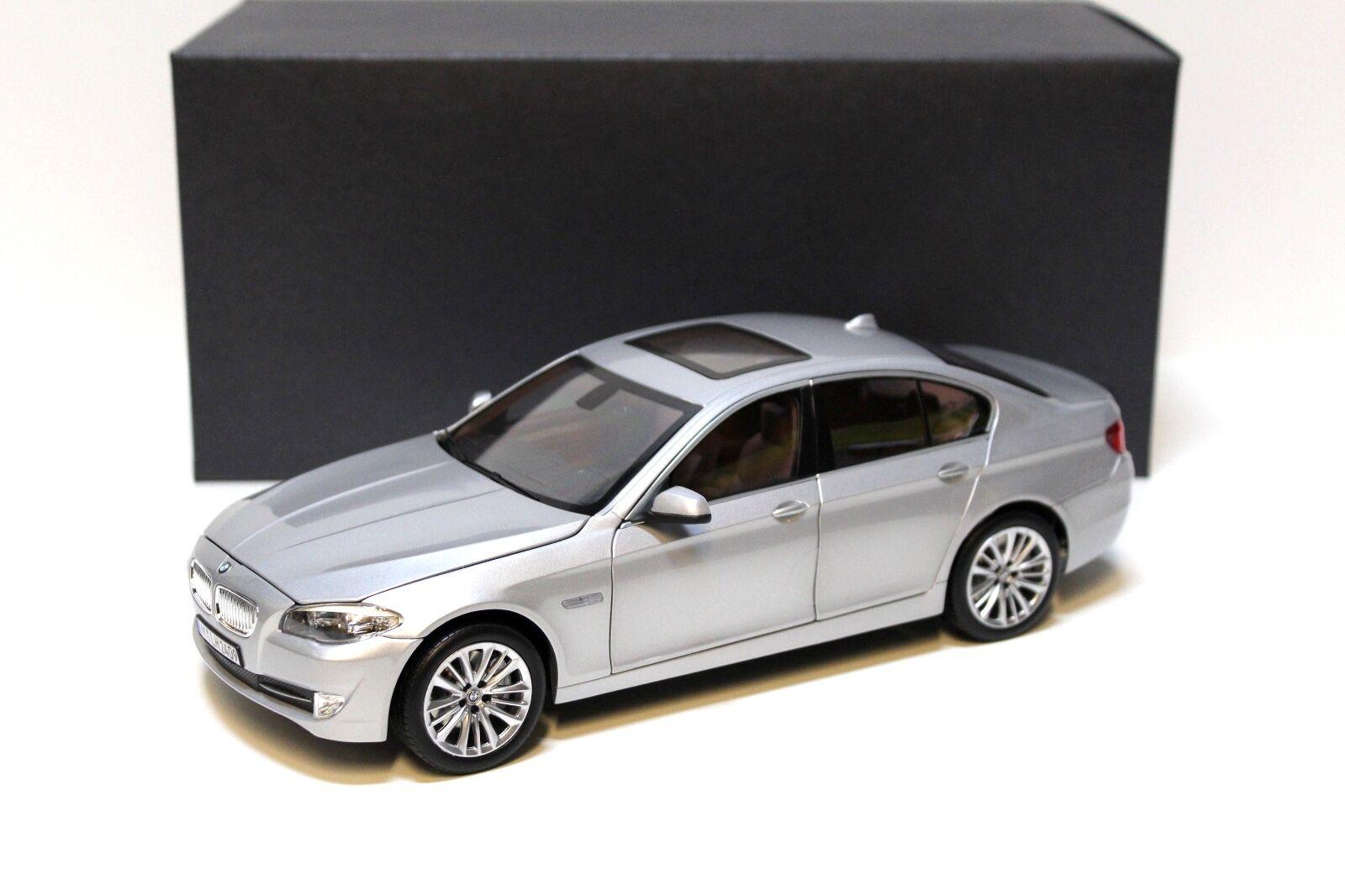 1 18 norev bmw 550i f10 Limousine plata dealer New en Premium-modelCoches