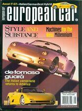 1997 European Car Magazine: de Tomaso Guara/Italian Carrozzeria/Ascari F-GT