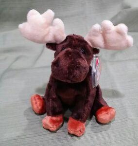 Ty Beanie Baby Zeus the Moose - 2002 MWMT Retired