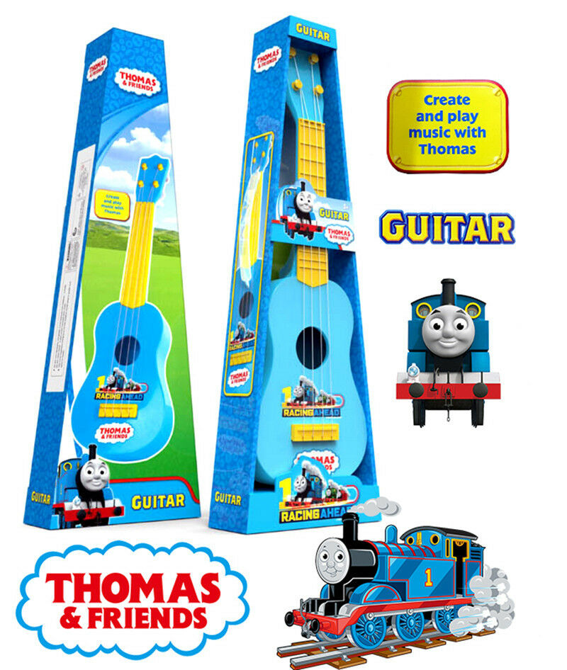 THOMAS THE TANK & FRIENDS MUSICAL INSTRUMENT GUITAR KIDS PRESCHOOL EDUCATION TOY