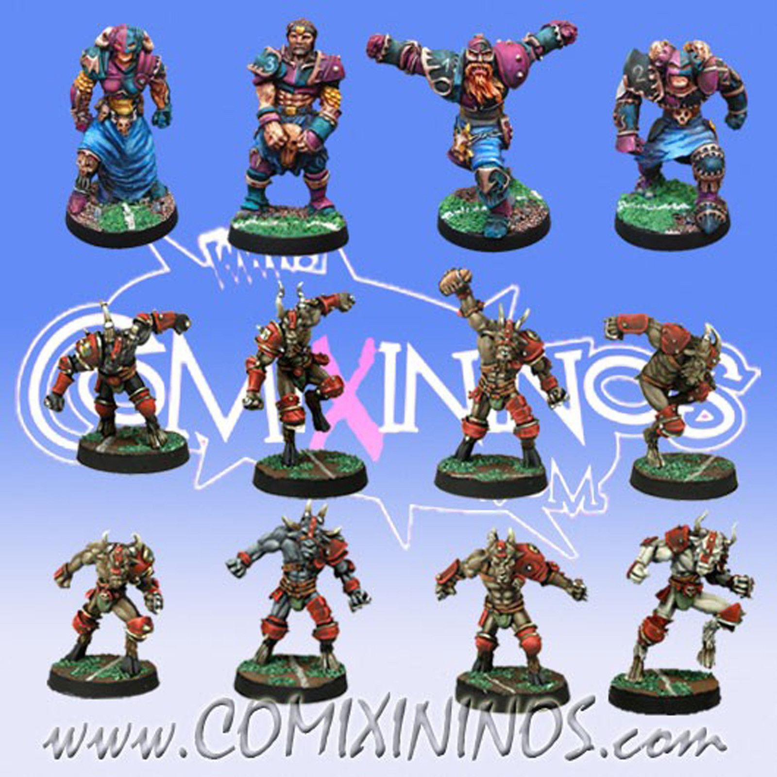 fantasyc Footbtutti - CHAOS squadra 12 Players for Blood Bowl  - Meiko uomoo di Porco  per il commercio all'ingrosso