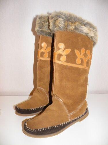 Damen Braun 40 Schuhe Stiefel Cowa Gr Winterstiefel EqIx0Wgw