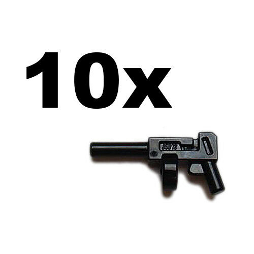 Tommy Gun black x 10 NEW LEGO gun Super Heroes Indiana Thompson Weapon
