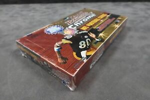 2000 BOWMAN CHROME FOOTBALL HOBBY BOX FACTORY SEALED BRADY ROOKIE YEAR A3203