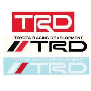 Vinyl-Decal-Sticker-For-TRD-Toyota-Racing-Development-Tacoma-Tundra-Auto-Car