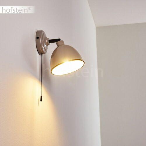 Flur Strahler Wand Lampen Leuchten Vintage Wohn Schlaf Zimmer Beleuchtung grau