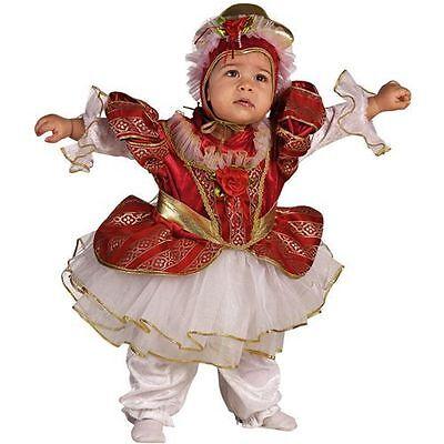 Radient Vestito Costume Carnevale Baby Regina D'inghilterra 18 24 Mesi 1 2 Anni